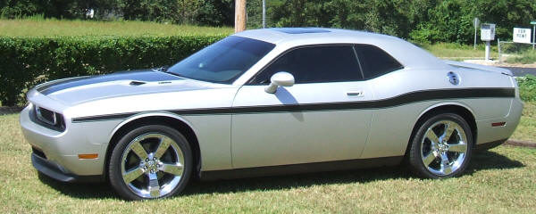 2008-2014 Challenger mid body side stripe kit