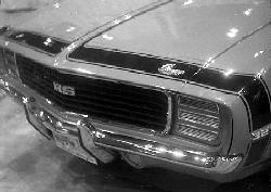 1969 Camaro Front Accent Striping Kit
