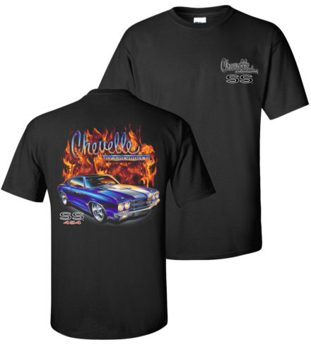 Chevy Flame Shirts tdc-154