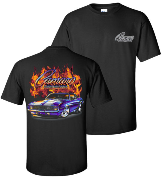 Chevy Flame Shirts tdc-155