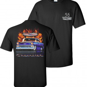 Chevy Flame Shirts tdc-181