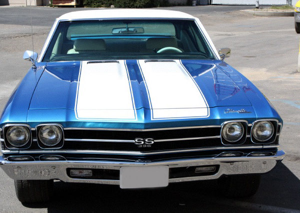 1968-69 Chevelle/El Camino Dual Stripe Paint Stencil Kit