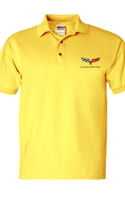 Men's Automotive Polos corvette mps-015