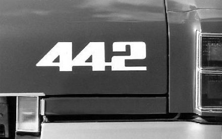 1976-79 442 Trunk Lid Decals